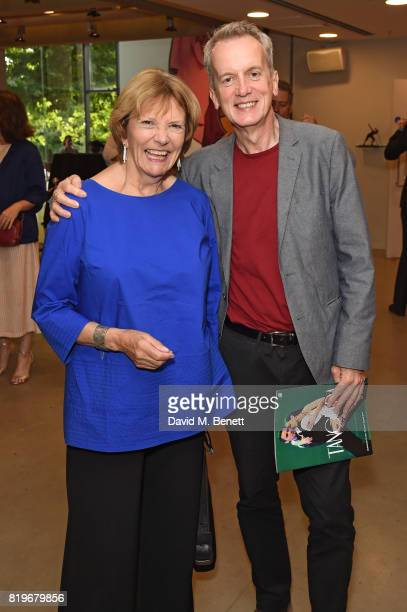 Baroness Bakewell and Frank Skinner attend the press night performance of Tanguera at Sadler's Wells Theatre on July 20 2017 in London England