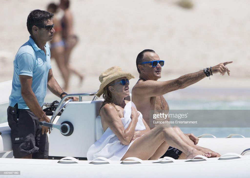 Celebrities Sighting In Ibiza - July 23, 2014