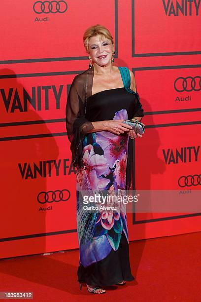 Baroness Carmen ThyssenBornemisza attends the Vanity Fair 5th anniversary paty at the Santa Coloma Palace on October 10 2013 in Madrid Spain