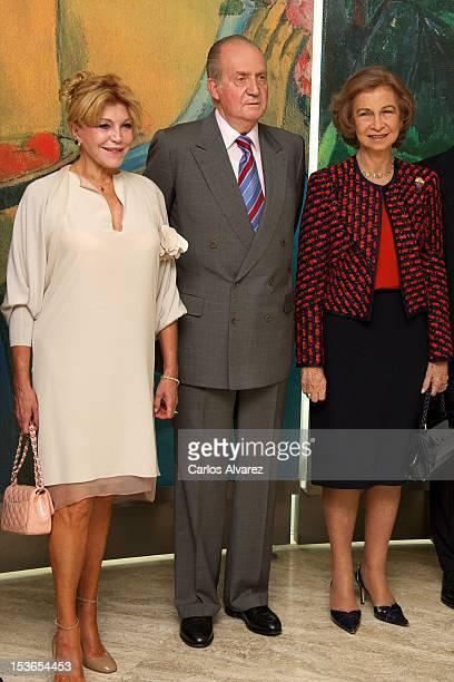 Baroness Carmen ThyssenBornemisza King Juan Carlos of Spain and Queen Sofia of Spain attend the Museum Thyssen Bornemisza 20th anniversary on October...