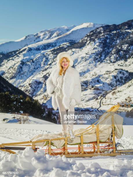 Baroness Carmen von Thyssen is photographed for Vanity Fair - Spain on January 19, 2017 in Escaldes-Engordany, Andorra. PUBLISHED IMAGE.