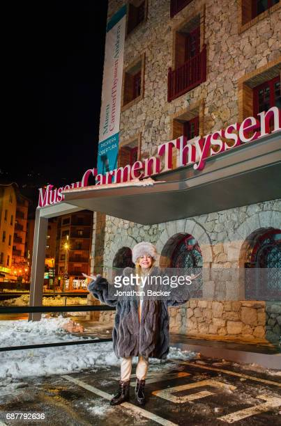 Baroness Carmen von Thyssen is photographed for Vanity Fair Spain on January 19 2017 in EscaldesEngordany Andorra PUBLISHED IMAGE