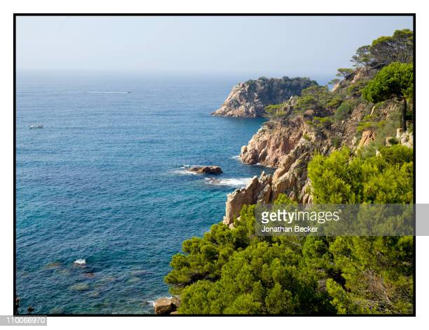 Baroness Carmen von Thyssen's garden is photographed for Vanity Fair Spain on August 24 2010 in Sant Feliu Spain Published image