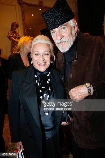 Baroness Helene von Ludinghausen and husband of Loulou de la Falaise, Thadee Klossowski de Rola attend the 'Loulou de la Falaise' book signing. Held...