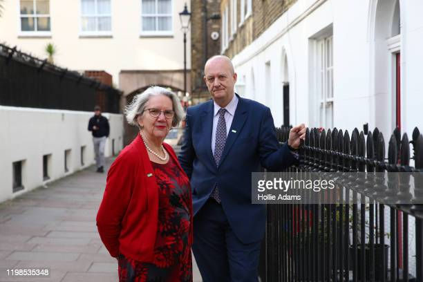 Baroness Judith Jolly and Professor Martin Green OBE chief exec of Care England pose for a photo on February 4 2020 in London England More than 2000...