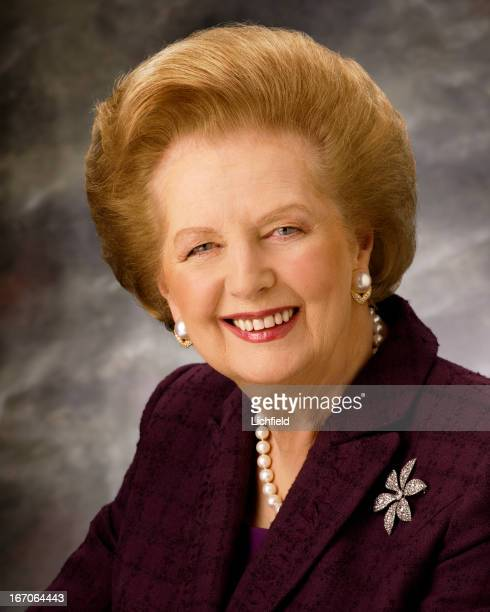 Baroness Margaret Thatcher British Politician first female Leader of the Conservative Party and British Prime Minister between 1979 and 1990...