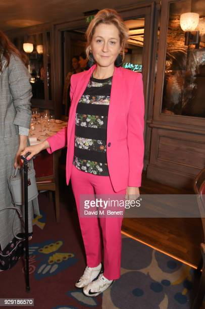 Baroness Martha Lane Fox attends the Harper's Bazaar lunch to celebrate International Women's Day at 34 Mayfair on March 8 2018 in London England