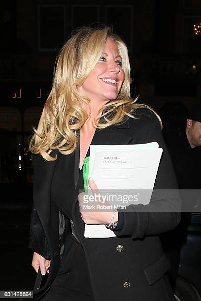 Baroness Michelle Mone at Scott's restaurant on January 10 2017 in London England