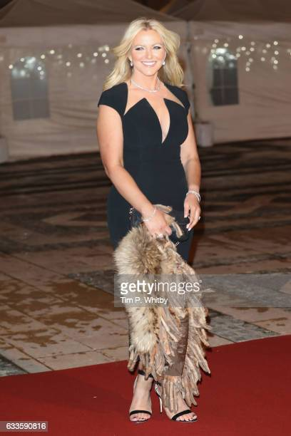 Baroness Michelle Mone attends a reception and dinner for supporters of The British Asian Trust on February 2 2017 in London England