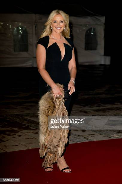 Baroness Michelle Mone attends a reception and dinner for supporters of The British Asian Trust on February 2 at The Guildhall in London England
