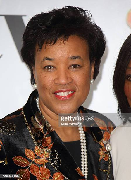 Baroness Scotland attends the Sky Women In Film and Television Awards luncheon at Hilton Park Lane on December 6 2013 in London England