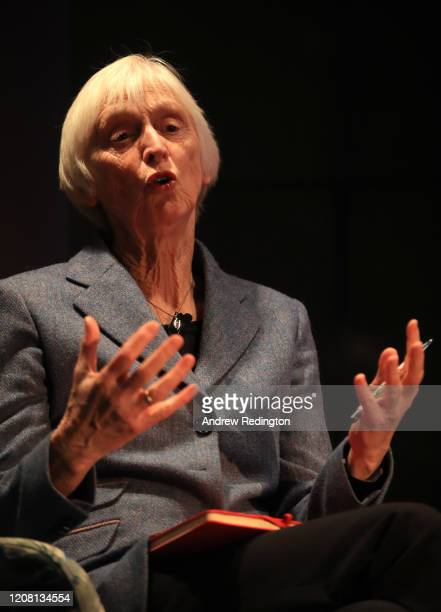 Baroness Sue Campbell CBE is pictured during the UEFA Women's EURO 2021 500 Days To Go Media Event at Wembley Stadium on February 18 2020 in London...