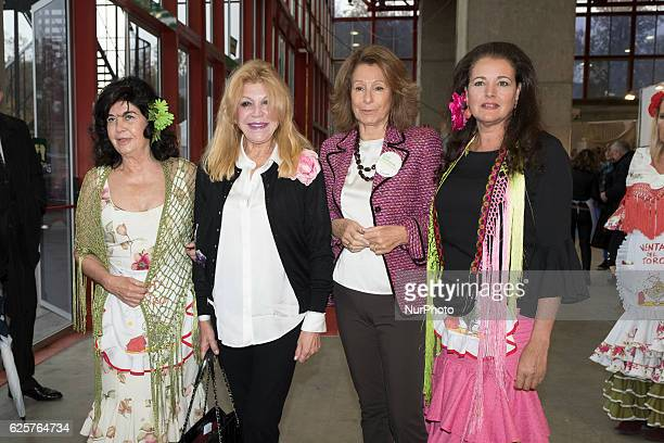 Baroness Thyssen attends the New Futuro solidarity market at the Casa de Campo in Madrid Spain on November 25 2016