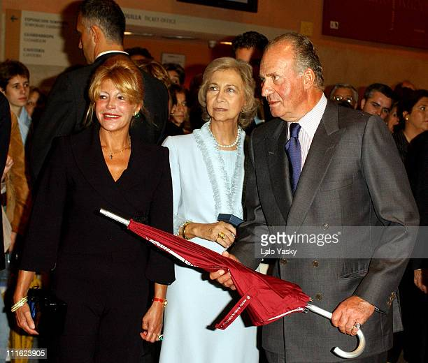 Baroness von Thyssen Queen Sofia King Juan Carlos of Spain