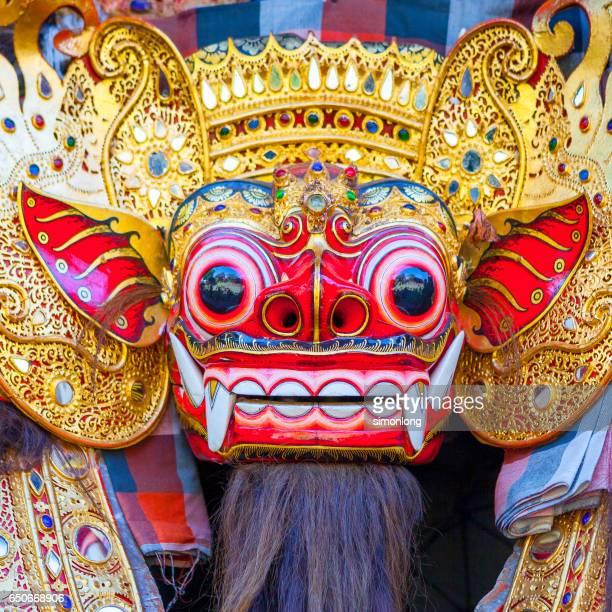 Barong mask in Bali