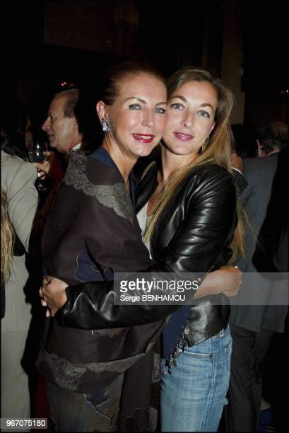 Baronne Ines Reille and daughter Arabelle Mahdavi