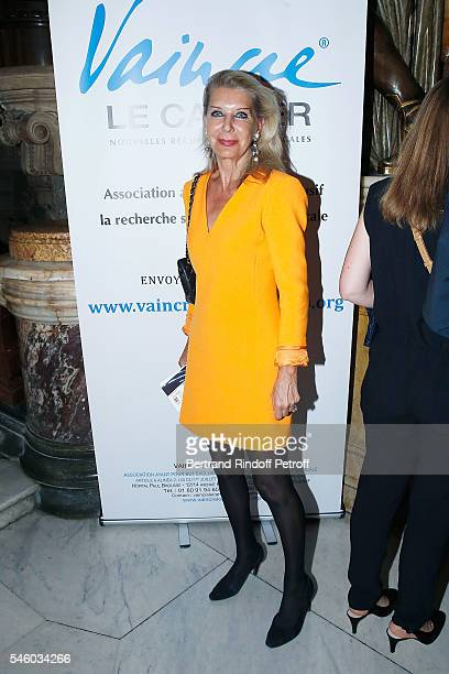 Baronness Eva Ameil attends 'Vaincre Le Cancer' Charity Gala Night at Opera Garnier on July 10 2016 in Paris France