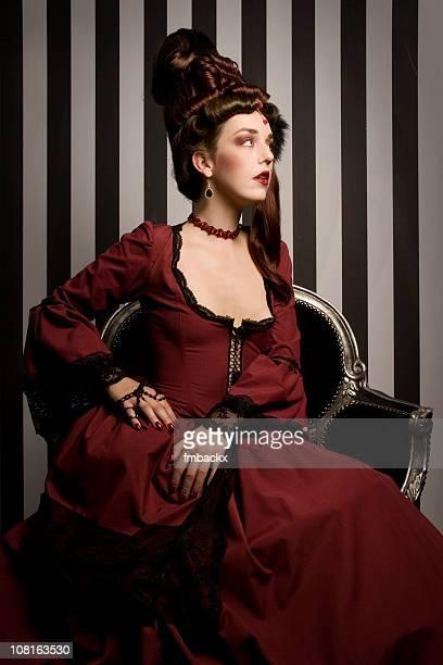 Baroque fashion beauty