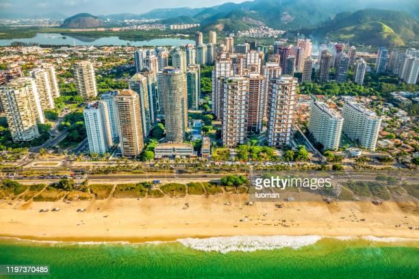 リオデジャネイロのバラ・ダ・ティジュカ - バーラ地区 ストックフォトと画像