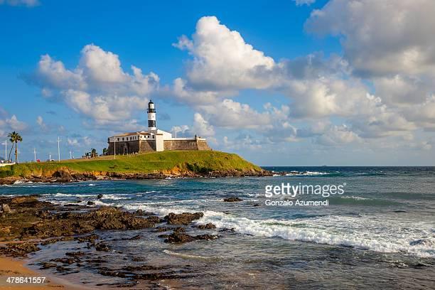barra lighthouse in salvador. - サルバドール ストックフォトと画像