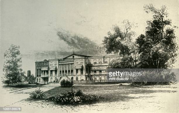 Barrackpore House 1856' From British Government in India Volume Two by Lord Curzon of Kedleston [Cassell and Company Ltd London New York Toronto and...