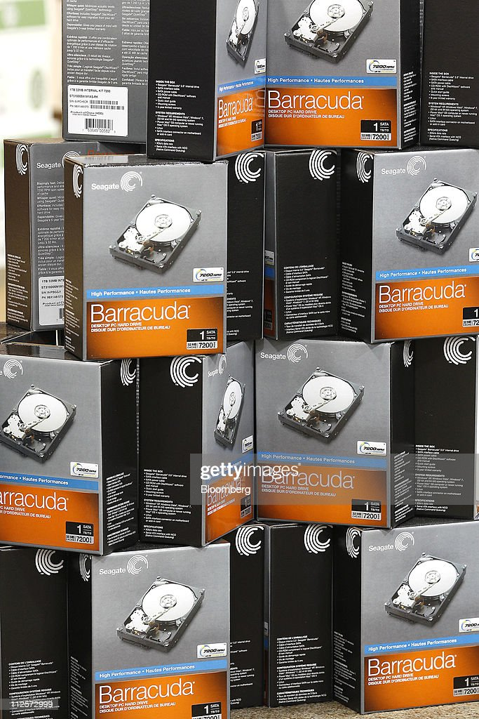 Barracuda brand hard drives made by Seagate Technology Plc ...