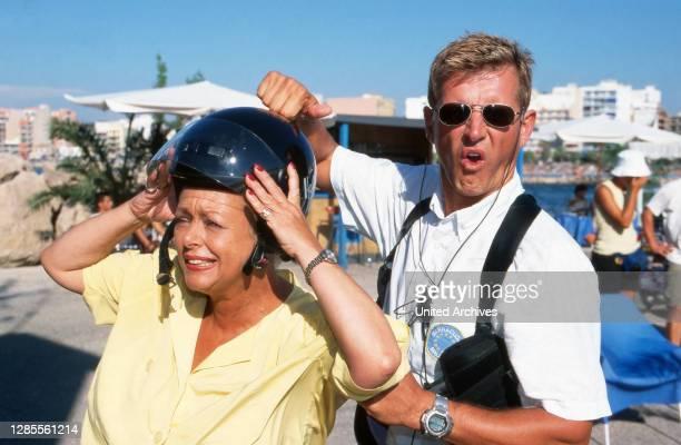 Barracuda - Mallorca, Fernsehserie, Deutschland 1997 - 2002, Darsteller: Barbara Schöne, Nick Wilder.