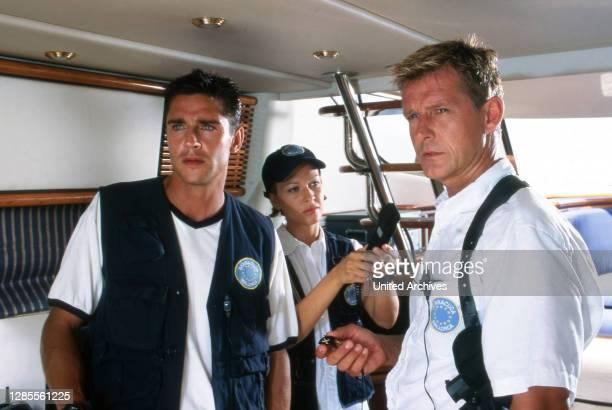 Barracuda - Mallorca, Fernsehserie, Deutschland 1997 - 2002, Darsteller: Oliver Bootz, Sandra Keller, Nick Wilder.
