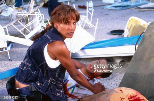 Barracuda - Mallorca, Fernsehserie, Deutschland 1997 - 2002, Darsteller: Nadja Abdel Farrag, Oliver Bootz.
