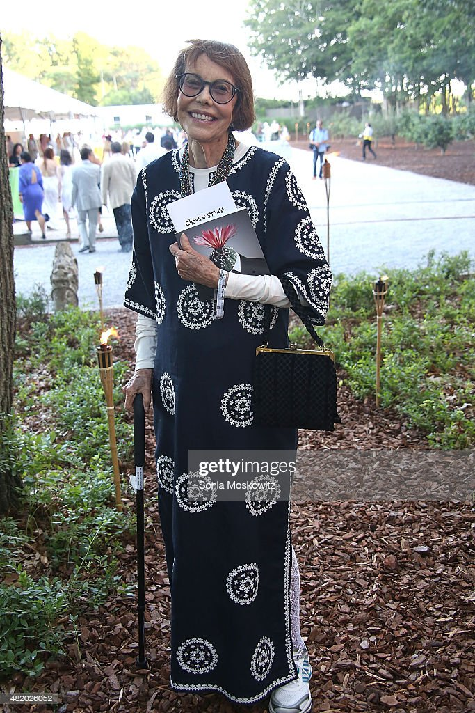 Barrbara Goldsmith attends the 22nd Annual Summer Benefit and Auction at The Watermill Center, 'Circus of Stillness', on July 25, 2015 in Water Mill, New York.