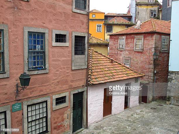 Barredo one of the traditional quarters in the center of Oporto on the descent from the cathedral before reaching the area of the Ribeira along the...