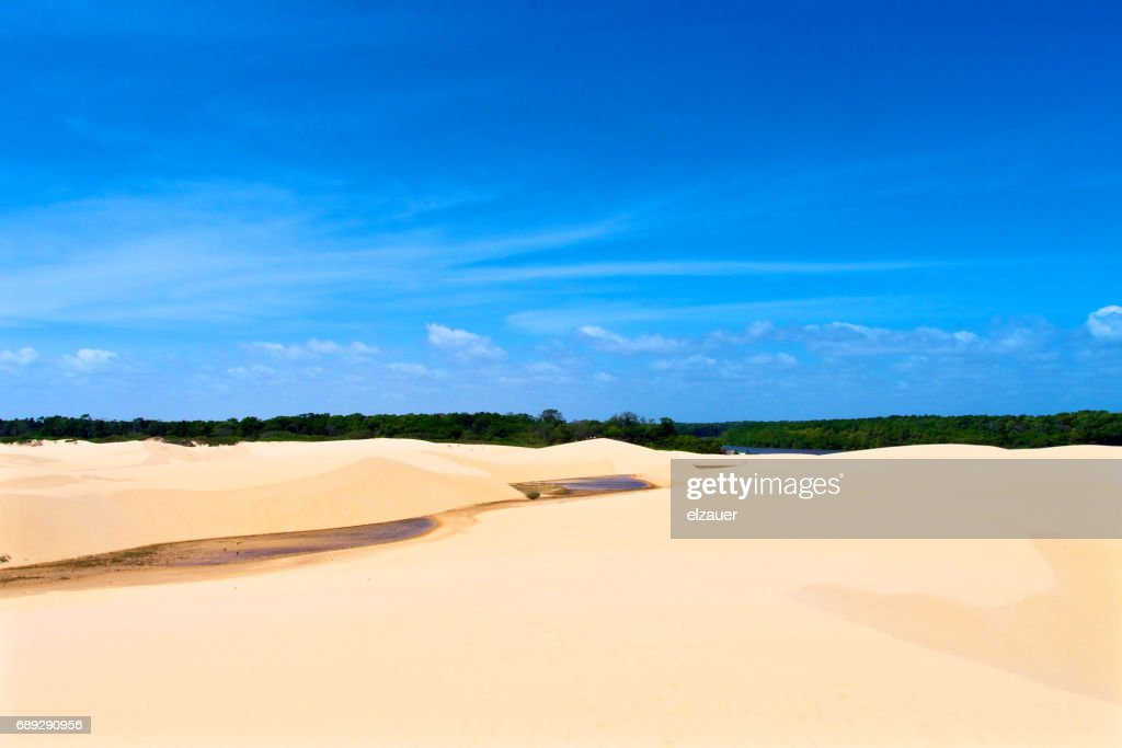 Barreirinhas - Lençois Maranhenses : Stock Photo