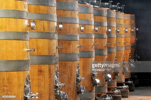 Barrel Fattoria Le Capezzine Azienda Agricola Avignonesi Valiano di Montepulciano Val di Chiana Tuscany Italy