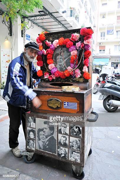 Barrel Organ-Spieler