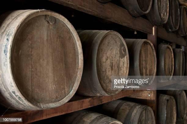 Barrels of Cachaça