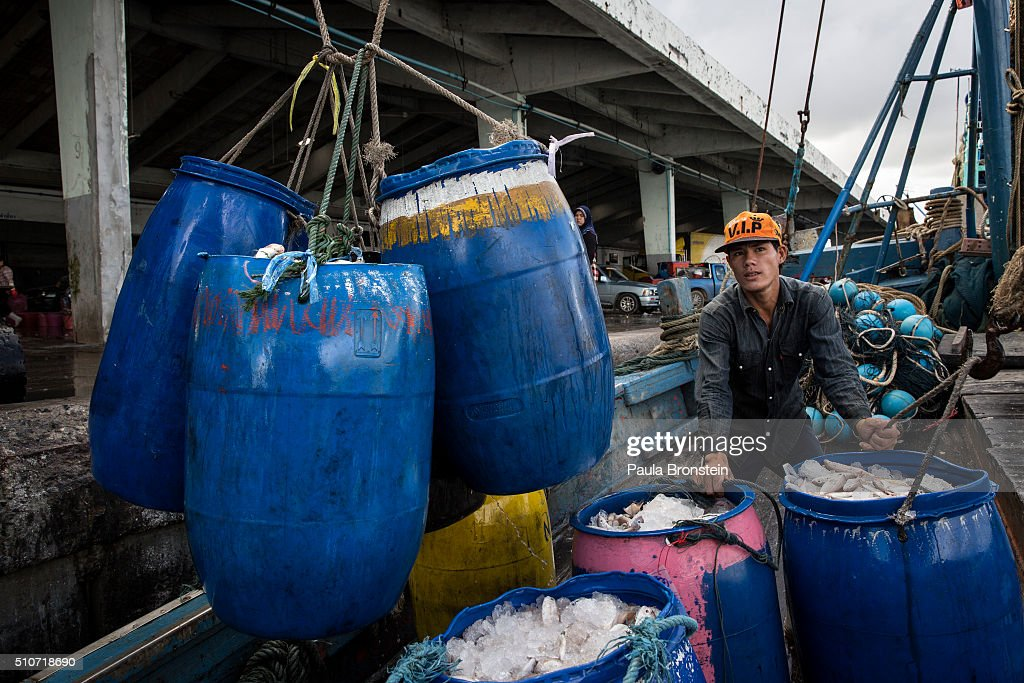 Thailand's Seafood Industry Under Scrutiny : News Photo