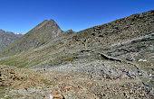 Barren high-altitude landscape