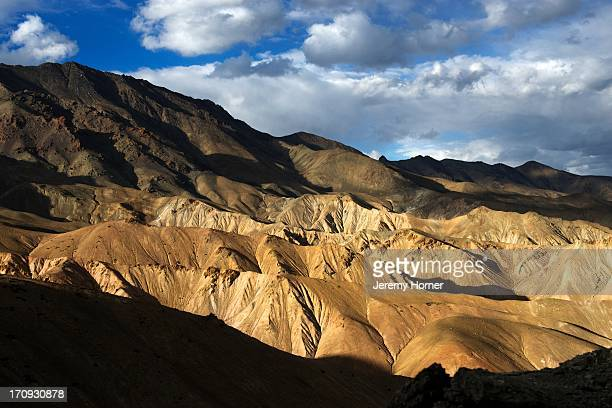 LADAKH INDIA LADAKH INDIA Barren lunar landscape near Mulbekh along the SrinagarLeh highway