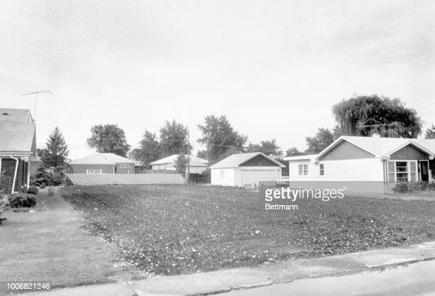 A barren plot of land is an uncomfortable reminder of the house of horrors home of John Wayne Gacy that once stood there Gacy who sometimes played a...