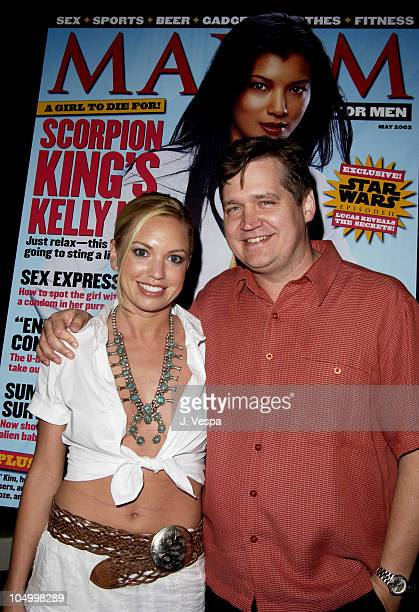Barret Swatek and Keith Blanchard EditorinChief of Maxim
