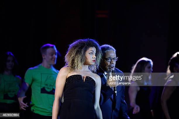 Barrett Doss and the cast of You Can't Take it With You perform at the Drama League's 31st Annual Musical Celebration Of Broadway at The Pierre Hotel...