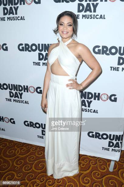 Barrett Doss attends the 'Groundhog Day' Broadway opening night after party at Gotham Hall on April 17 2017 in New York City