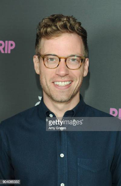 Barrett Foa attends 'The Relationtrip' Los Angeles Premiere on January 11 2018 in Los Angeles California