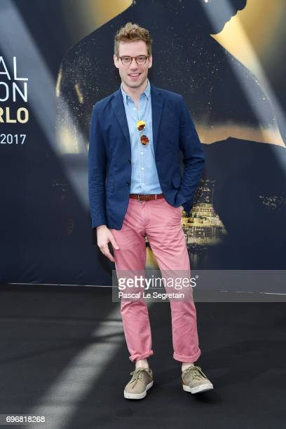 Barrett Foa from 'NCIS Los Angeles' attends a photocall during the 57th Monte Carlo TV Festival Day 2 on June 17 2017 in MonteCarlo Monaco