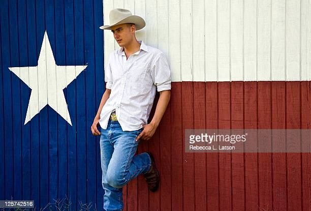 Barrett & texas flag