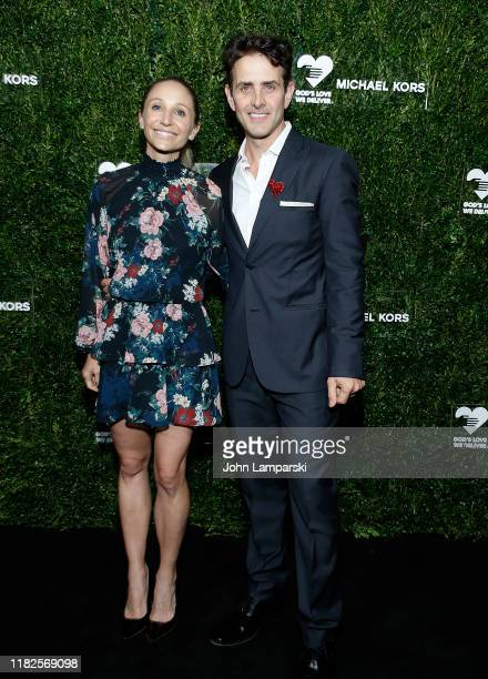 Barrett Williams and Joey McIntyre attend God's Love We Deliver 13th Annual Golden Heart Awards celebration at Cipriani South Street on October 21...