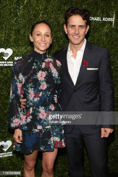 Barrett Williams and Joey McIntyre attend the 13th Annual Golden Heart Awards at Cipriani South Street on October 21 2019 in New York City