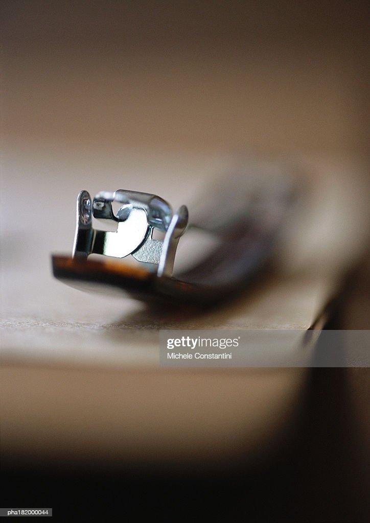 Barrette, close-up : Stockfoto