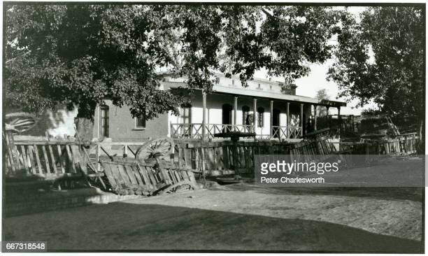 Barricades around a police station 'The Disturbances Peshawar 1919' Background to this image With the threat of War looming in Europe Edward...