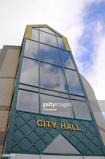 barrie city hall - barrie stock pictures, royalty-free photos & images